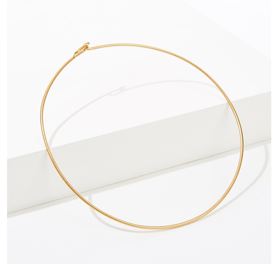 Image 137849.jpg , Product 137-849 / Price $24.99 , India Hicks Single O Choker - Light Ox Gold from India Hicks on TSC.ca's Jewellery department