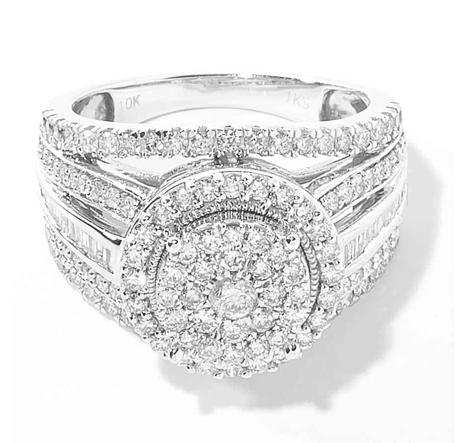 Image 208991.jpg , Product 208-991 / Price $1,399.99 , 10K White Gold 1.50ctw White Diamond Ring from The Vault on TSC.ca's Jewellery department