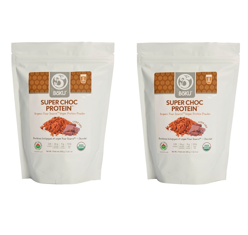 Image 214203.jpg , Product 214-203 / Price $79.99 , Auto Delivery - 45-Day BoKU Chocolate Super Protein Duo from BOKU on TSC.ca's Health & Fitness department