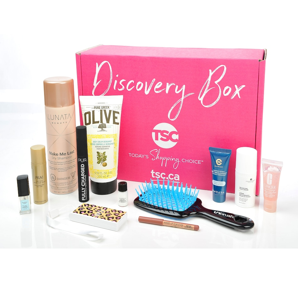 Image 214218.jpg , Product 214-218 / Price $49.99 , TSC Discovery Box - Auto Subscription  on TSC.ca's Beauty department