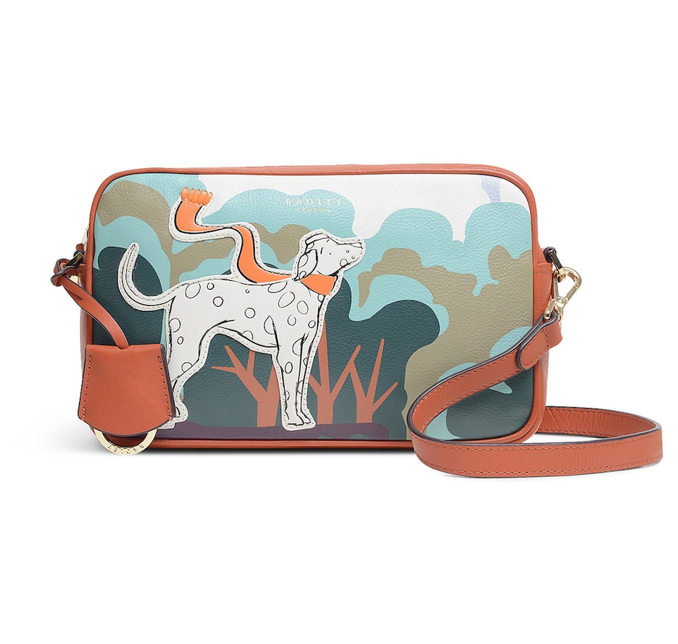 Image 215645_GIN.jpg , Product 215-645 / Price $319.99 , Radley London Radley & Friends Small Ziptop Crossbody Bag from Radley London on TSC.ca's Clothing & Shoes department
