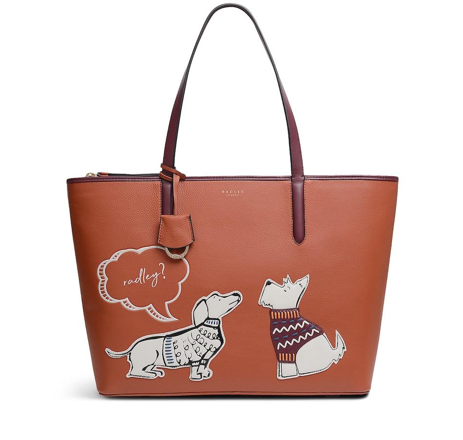 Image 215646_GIN.jpg , Product 215-646 / Price $399.99 , Radley London Radley & Friends Medium Ziptop Tote Bag from Radley London on TSC.ca's Clothing & Shoes department