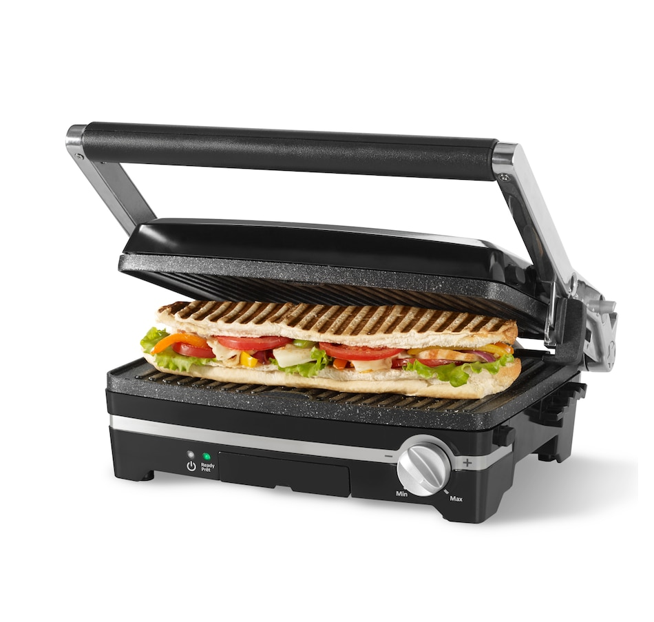 Image 217813.jpg , Product 217-813 / Price $84.99 , Starfrit The Rock Panini with Reversible Plates from Starfrit on TSC.ca's Kitchen department