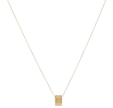 Stefano Oro 14K Yellow Gold Ricami Wheel Necklace