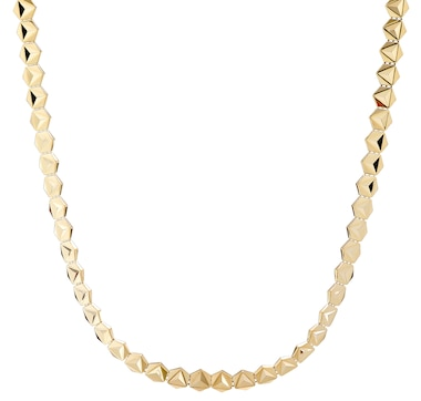 Stefano Oro 14K Yellow Gold Ricami Rune Necklace