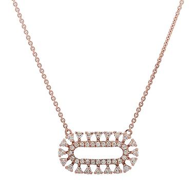 LUXLE Jewellery 14K Gold 0.25ctw Diamond Necklace