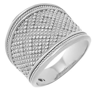 Silver Gallery Sterling Silver Filigree Antique Style Ring