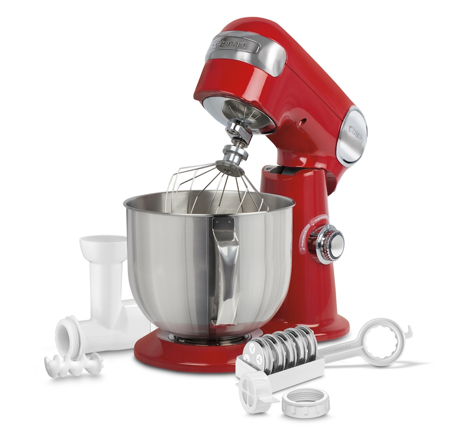 Image 220791_RED.jpg , Product 220-791 / Price $379.99 , Cusinart Precision Master 5.5-Quart Stand Mixer with Bonus Pasta Extruder Attachment from Cuisinart on TSC.ca's Kitchen department