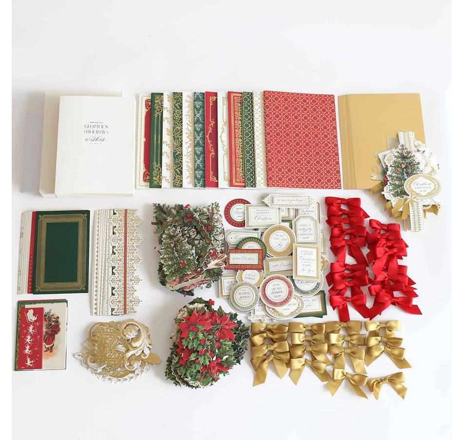 Image 220810.jpg , Product 220-810 / Price $74.99 , Anna Griffin Happy Christmas Box Card Making Kit from Anna Griffin on TSC.ca's Home & Garden department