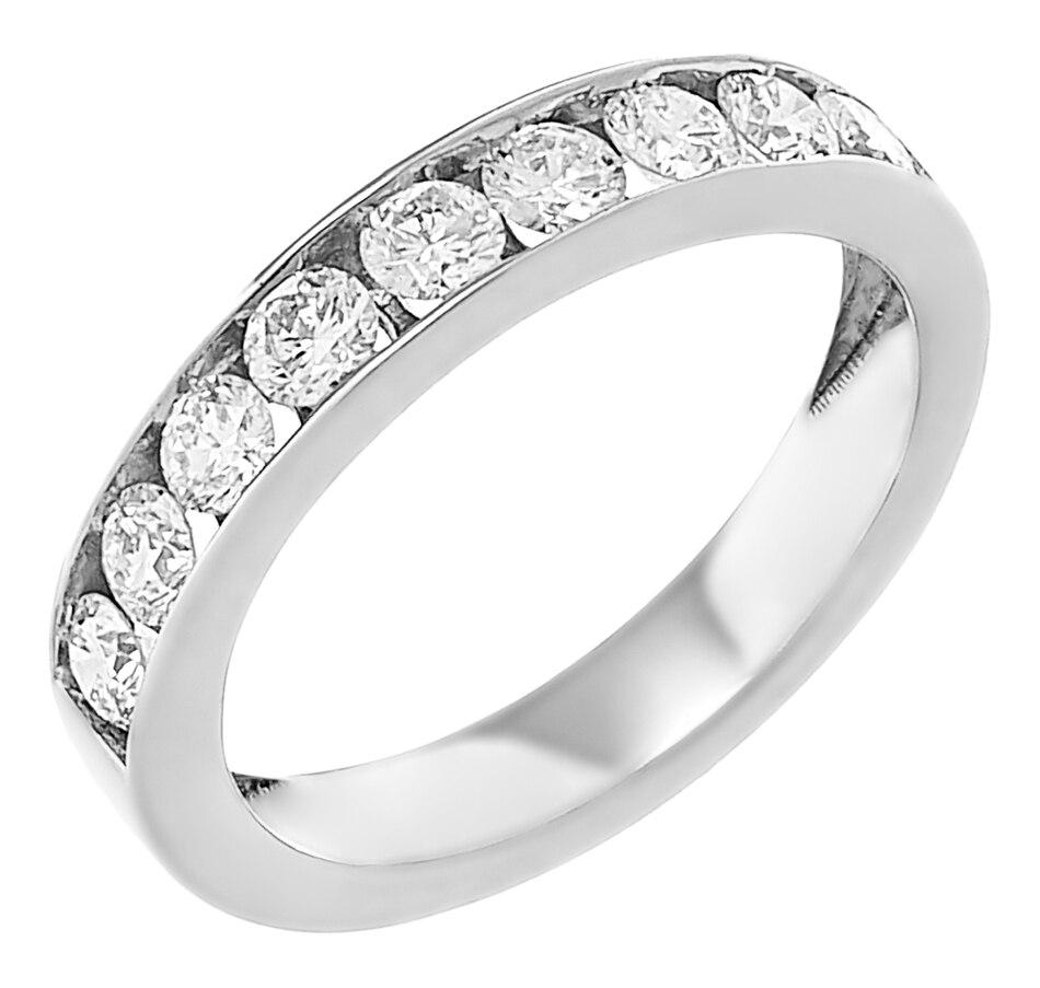 Image 232400_WG1CT.jpg , Product 232-400 / Price $999.95 - $2,299.95 , Inspire Diamonds 14K Gold Diamond Channel Set Band from Inspire Diamonds on TSC.ca's Jewellery department