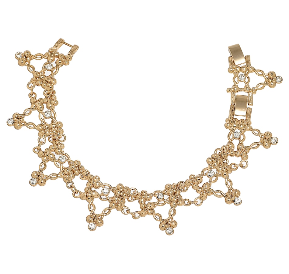 Image 232466.jpg , Product 232-466 / Price $79.99 , Grace Kelly - Princess of Monaco Collection Golden Fall Sapphire Bracelet from Grace Kelly - Princess of Monaco Collection on TSC.ca's Jewellery department