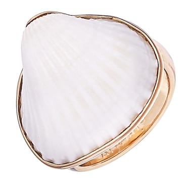 Alchemía by Charles Albert Ark Shell Adjustable Ring