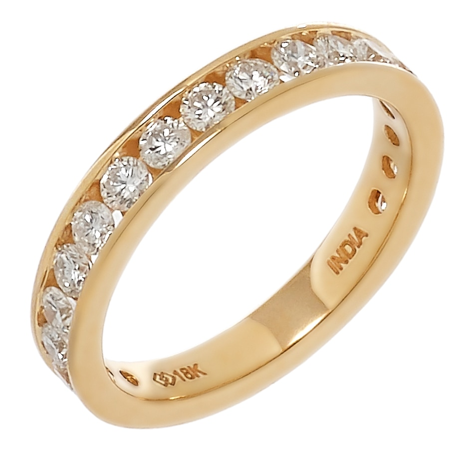 Image 233447_YGL.jpg , Product 233-447 / Price $1,429.99 , 18K Gold 1.00ctw Round Shape Diamond Band from Diamond Show on TSC.ca's Jewellery department
