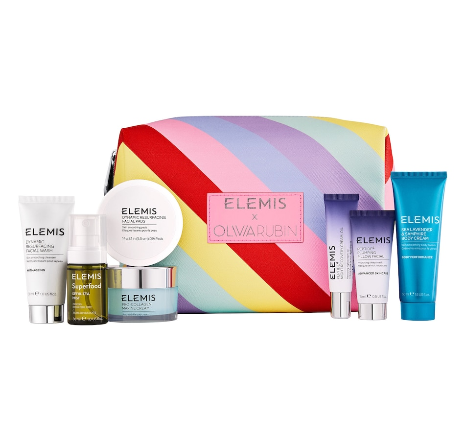 Image 246700.jpg , Product 246-700 / Price $135.00 , Elemis x Olivia Rubin Women's Travel Collection Bag from Elemis on TSC.ca's Beauty department