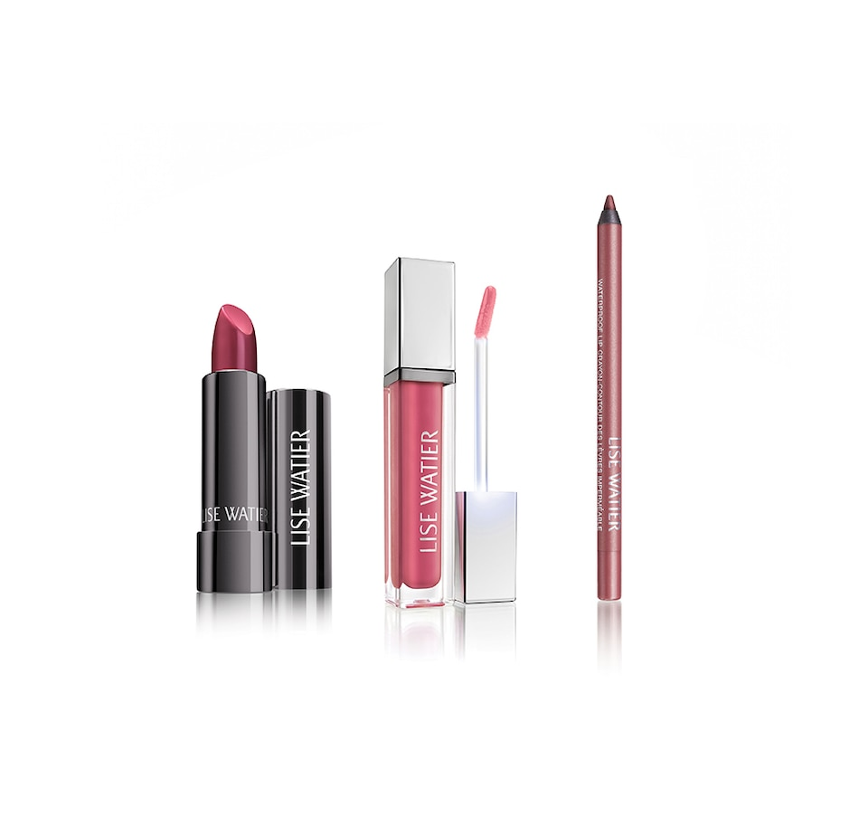 Image 249529_BRY.jpg , Product 249-529 / Price $74.00 , Lise Watier Complete Lip Trio from Lise Watier on TSC.ca's Beauty & Health department