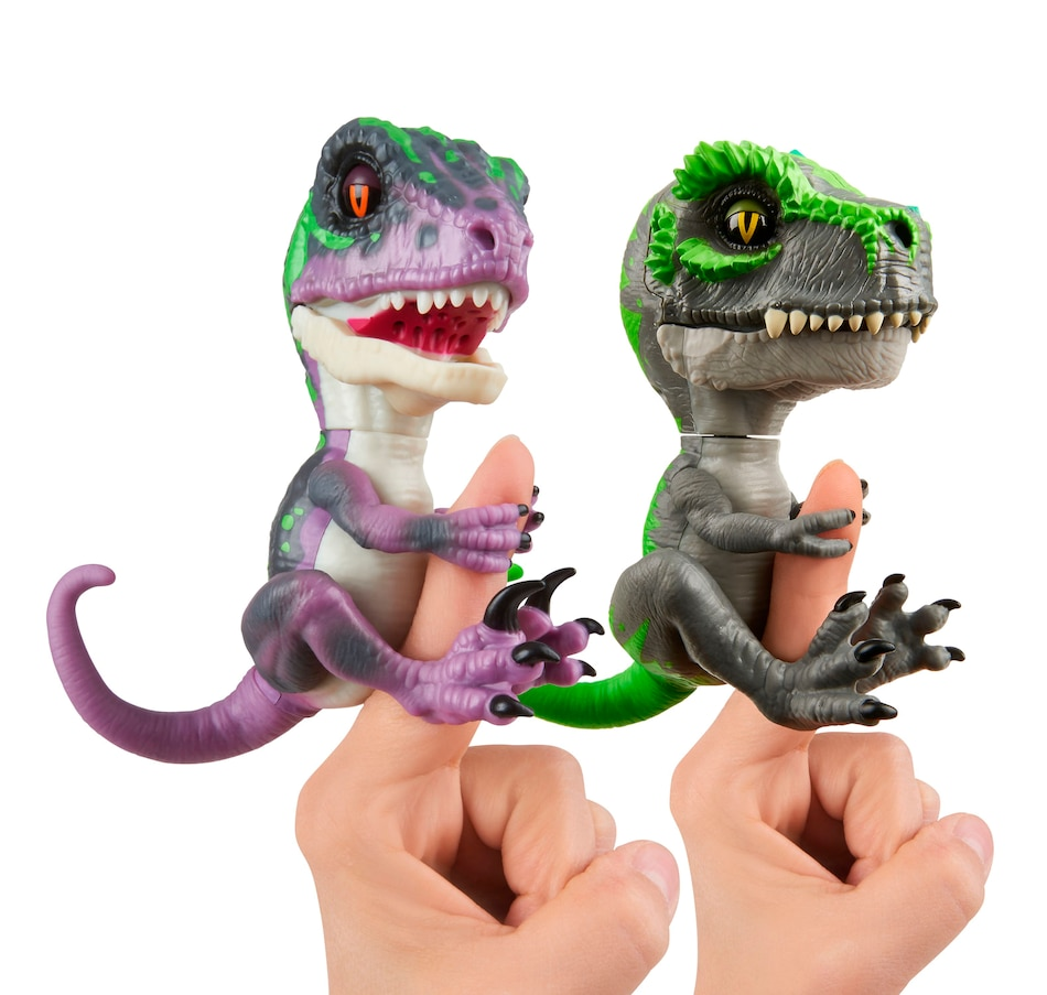 Image 250989.jpg , Product 250-989 / Price $39.99 , Fingerlings Untamed Bundle Raptor Razor + T-Rex Tracker by WowWee from WOWWEE