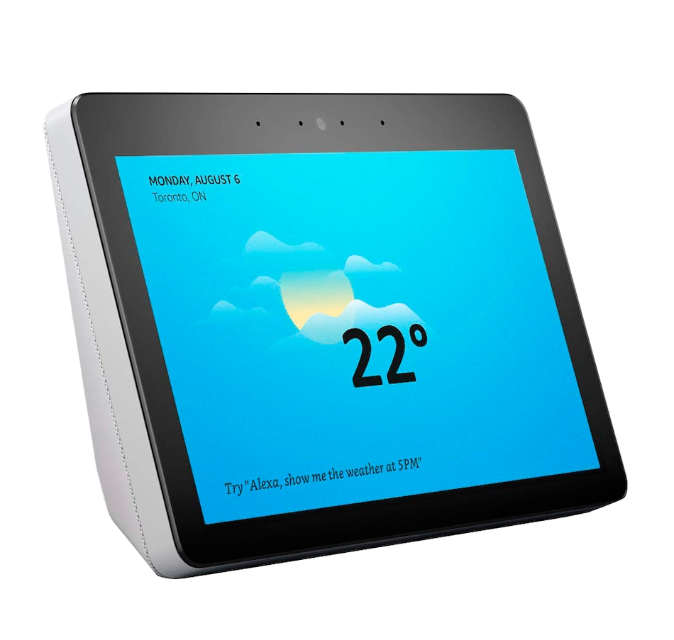 "Image 251012_SAST.jpg , Product 251-012 / Price $299.99 , Amazon Echo Show with Alexa (2nd Generation) with 10.1"" HD Screen from Amazon on TSC.ca's Electronics department"