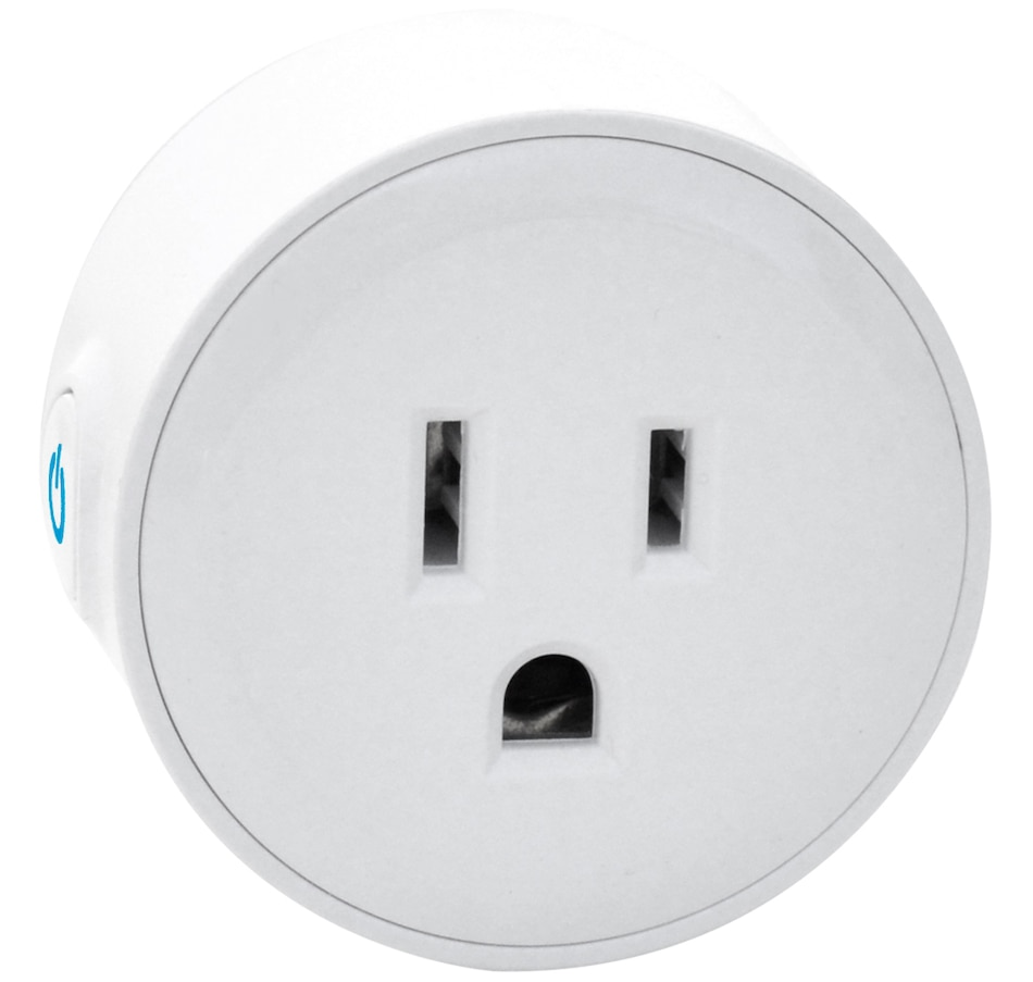 Image 251046.jpg , Product 251-046 / Price $39.99 , Digital Gadgets Wi-Fi Electrical Outlet Mini Smart Socket  on TSC.ca's Electronics department