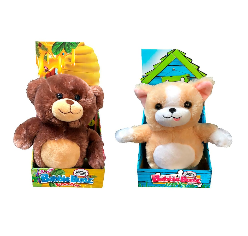 Image 251072.jpg , Product 251-072 / Price $29.33 , Mindscope Babble Budz (Set of 2: Bear and Dog)  on TSC.ca's Coins & Hobbies department