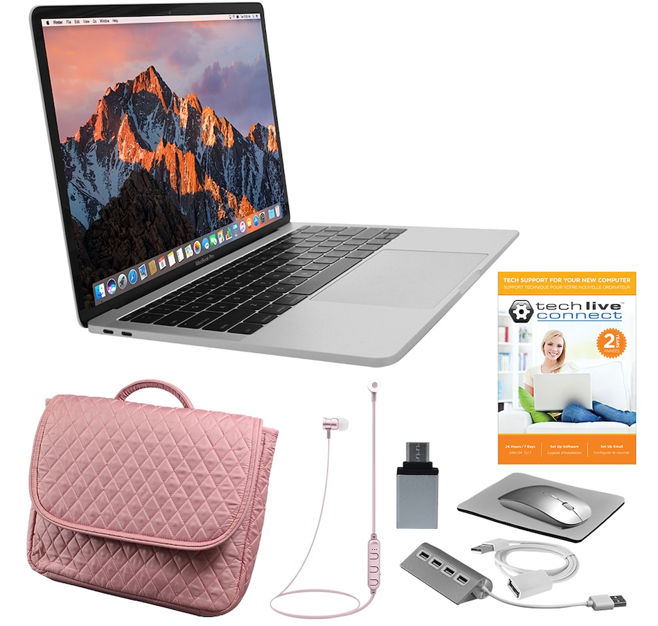 """Image 251077_SIRGD.jpg , Product 251-077 / Price $2,259.91 , Apple 13"""" MacBook Pro Retina Display 128GB Notebook with Intel Core i5, Accessories and 2-Year Tech Support from Apple on TSC.ca's Electronics department"""