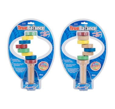 TrueBalance Wooden Coordination Balance Toy (Set of 2)