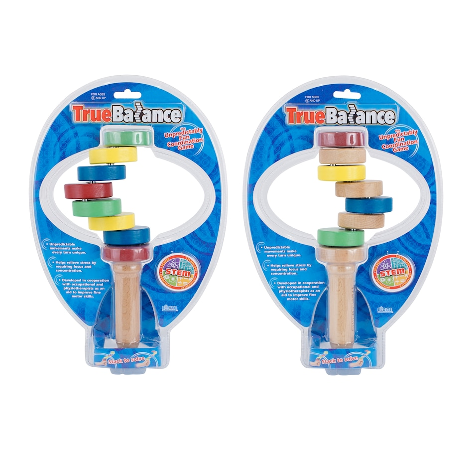 Image 251108.jpg , Product 251-108 / Price $49.99 , TrueBalance Wooden Coordination Balance Toy (Set of 2)  on TSC.ca's Home & Garden department