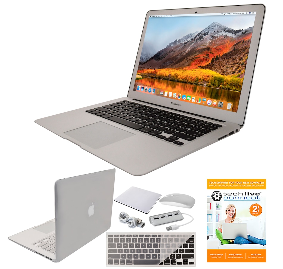 "Image 251137_CLR.jpg , Product 251-137 / Price $1,599.99 , Apple MacBook Air 13.3"" 128GB Notebook with 2-Year Tech Support (2017 model) from Apple on TSC.ca's Electronics department"