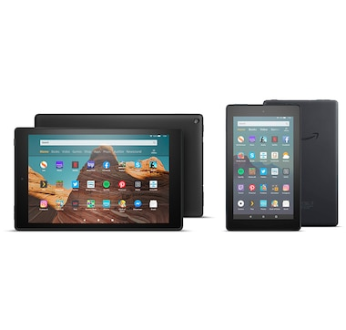 "Amazon Fire HD 10"" 64GB with Free Amazon Fire 7"" 16GB plus Apps and Content"