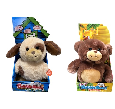 Mindscope Babble Budz Bear and Dog (Set of 2)