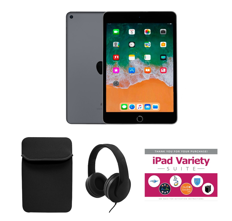 """Image 251234_GYB.jpg , Product 251-234 / Price $629.99 , Apple iPad Mini 5 7.9"""" 64GB Bundle with Variety (5th Generation) from Apple on TSC.ca's Electronics department"""