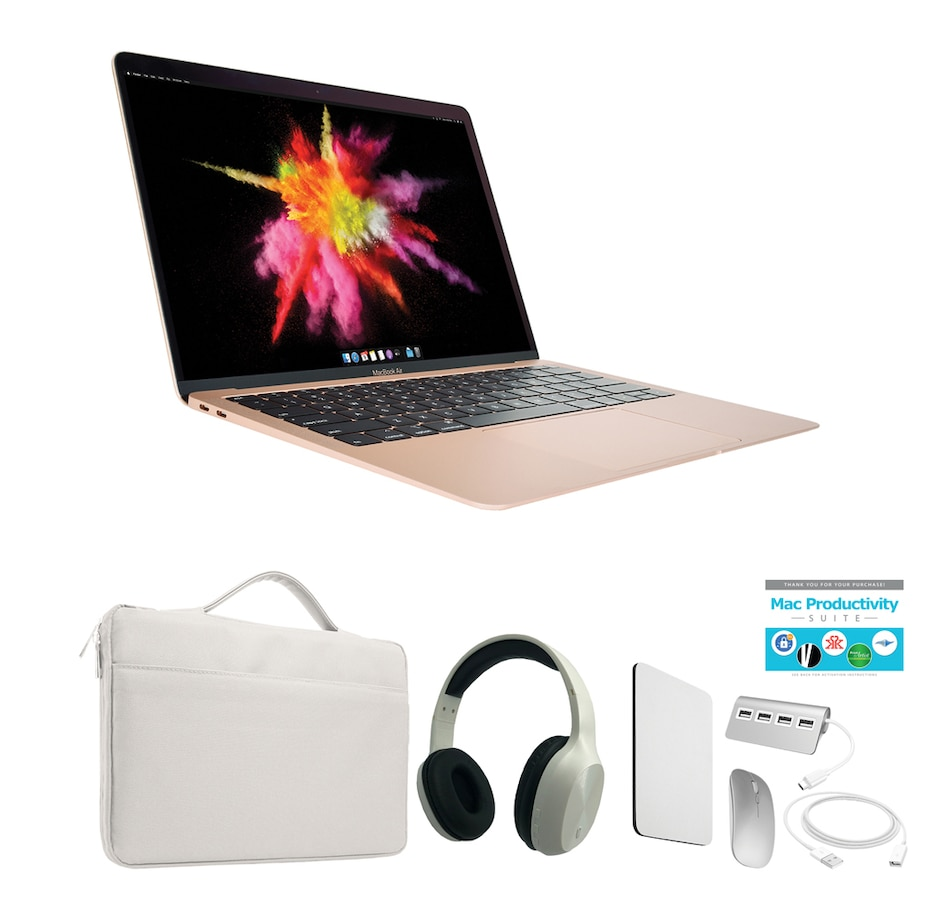 """Image 251271_GDW.jpg , Product 251-271 / Price $2,499.99 , Apple MacBook Air 13.3"""" Intel Core i7 512GB SSD 16GB RAM Bundle from Apple on TSC.ca's Holiday Gift Shop department"""