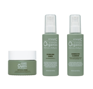 emerginC Scientific Organics Skincare Trio