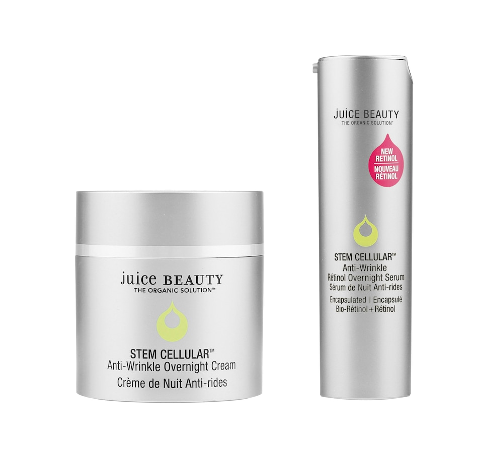 Image 349128.jpg , Product 349-128 / Price $179.00 , Juice Beauty Stem Cellular Anti-Wrinkle Retinol Overnight Serum & Cream Duo from Juice Beauty on TSC.ca's Beauty department
