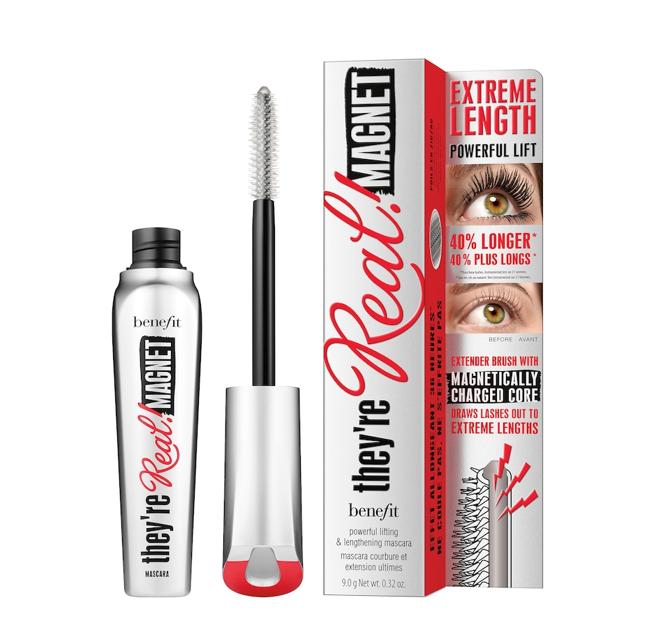 Image 349466.jpg , Product 349-466 / Price $36.00 , Benefit They're Real! Magnet Mascara from Benefit Cosmetics on TSC.ca's Beauty department