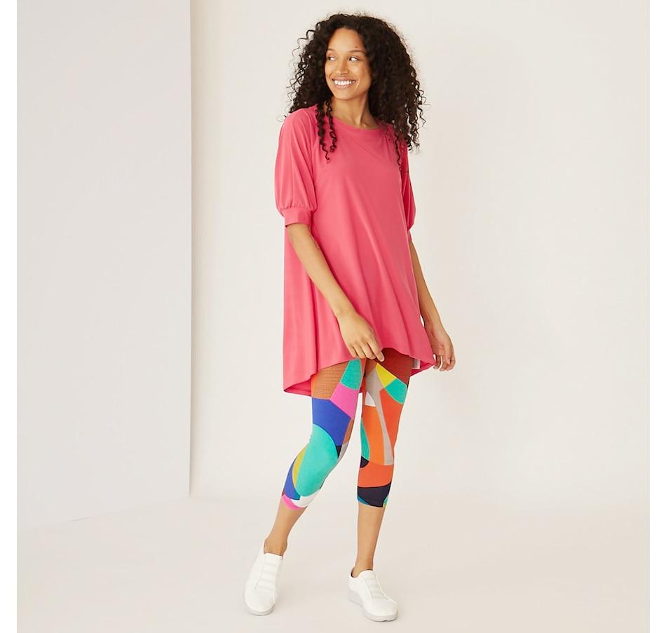 Image 349985_PNK.jpg , Product 349-985 / Price $59.99 , Marallis Short Sleeve Tunic Top from Marallis on TSC.ca's Fashion department