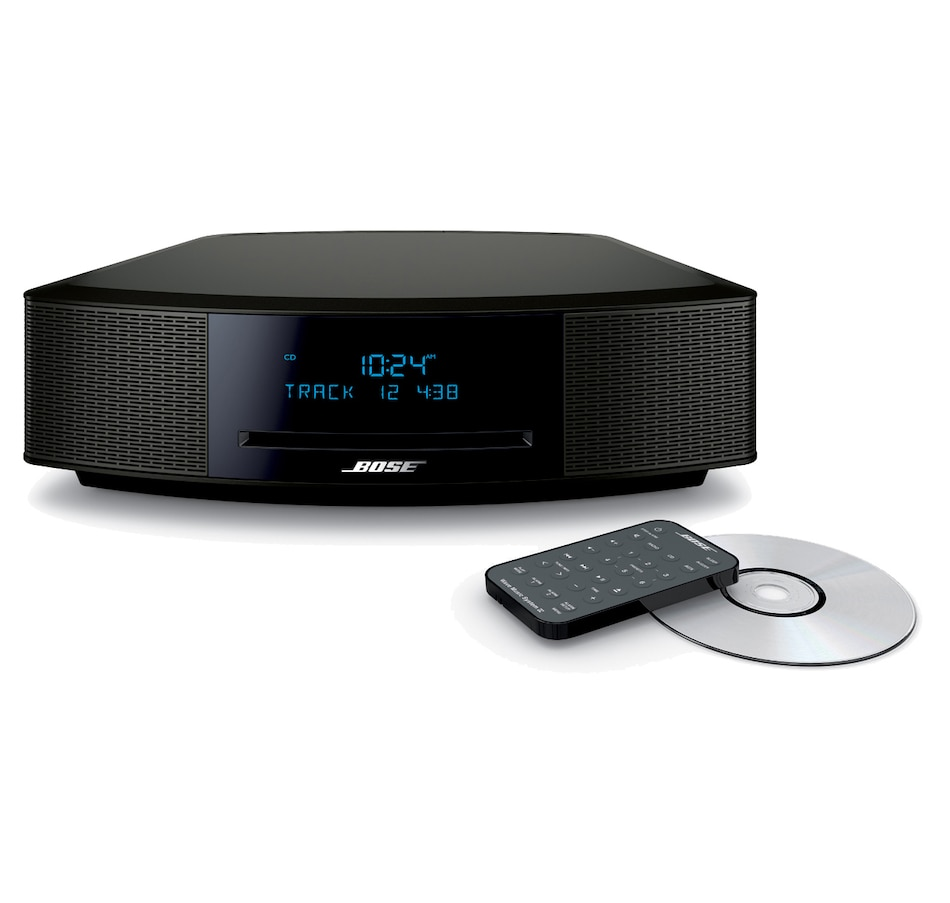 Image 370018_ESBLK.jpg , Product 370-018 / Price $649.99 , Bose Wave Music System IV with CD Slot & Dual Alarm from Bose