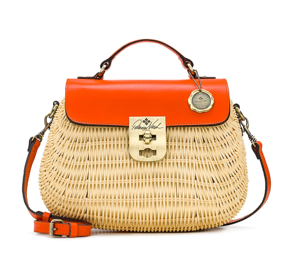 Image 371151_ORA.jpg , Product 371-151 / Price $119.33 , Patricia Nash Colimena Wicker Satchel from Patricia Nash on TSC.ca's Clothing & Shoes department
