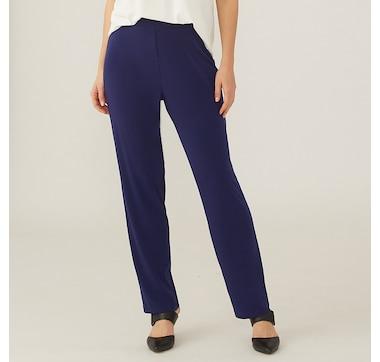 Kim & Co. Brazil Knit Comfort Narrow Leg Pant