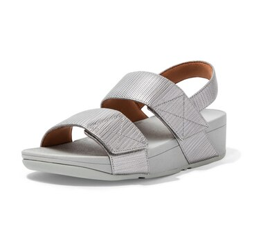 FitFlop Mina Textured Glitz Back Strap Sandals