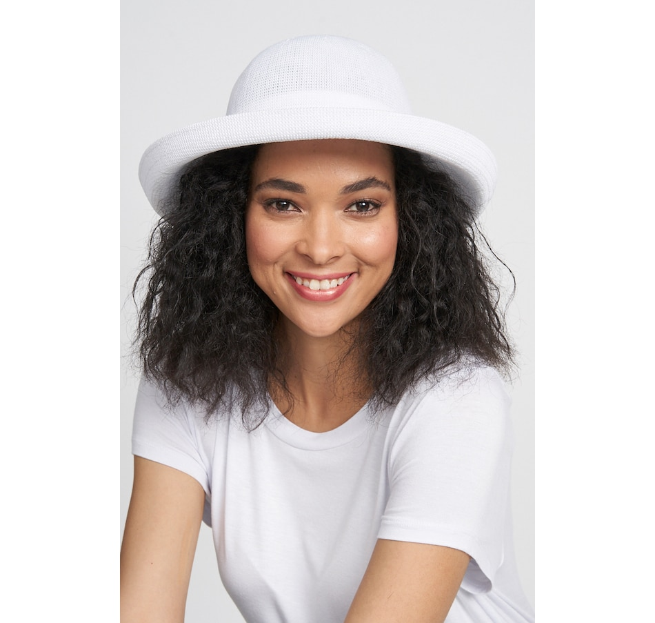 Image 372049_WHT.jpg , Product 372-049 / Price $40.00 , Parkhurst Accessories Panama Hat with Adjustable Sun Guard from Parkhurst on TSC.ca's Fashion department