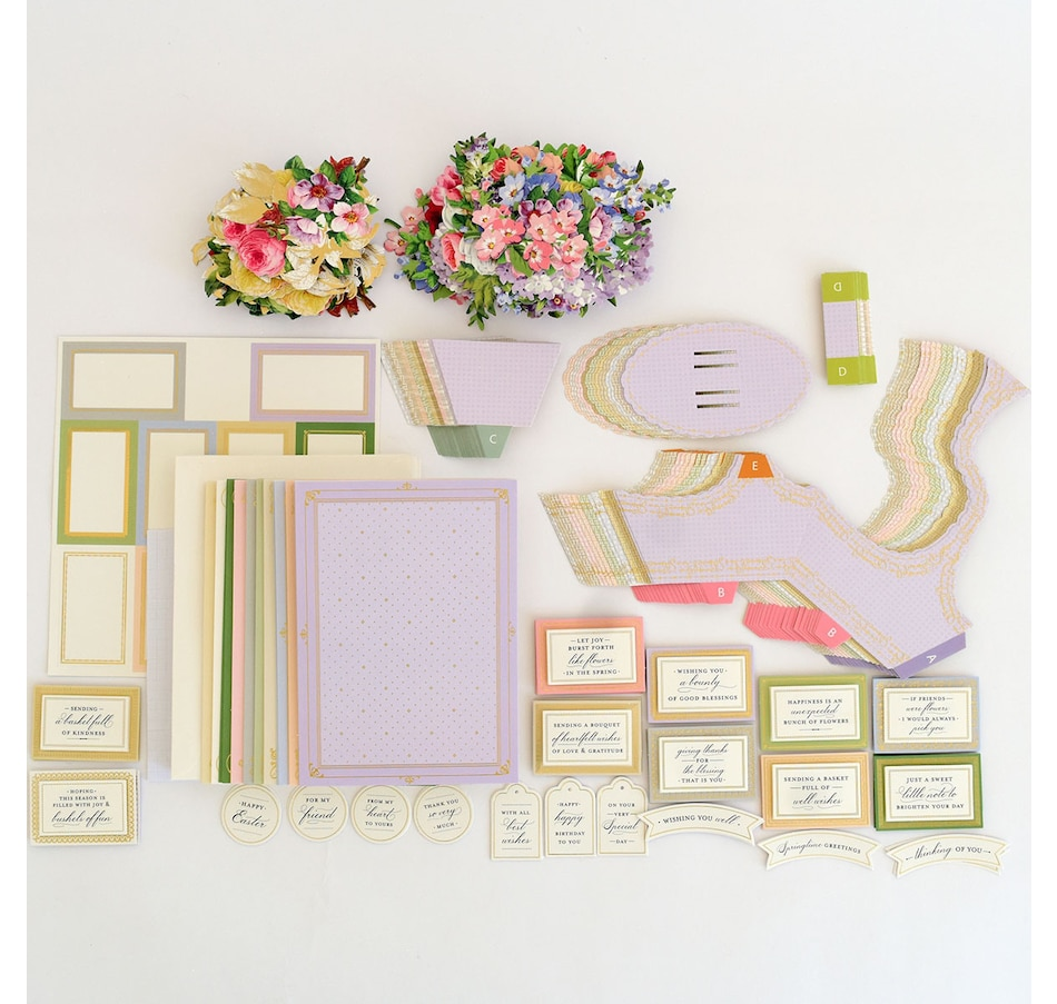 Image 400972.jpg , Product 400-972 / Price $69.99 , Anna Griffin Basket Pop-Up Card Kit from Anna Griffin on TSC.ca's Home & Garden department