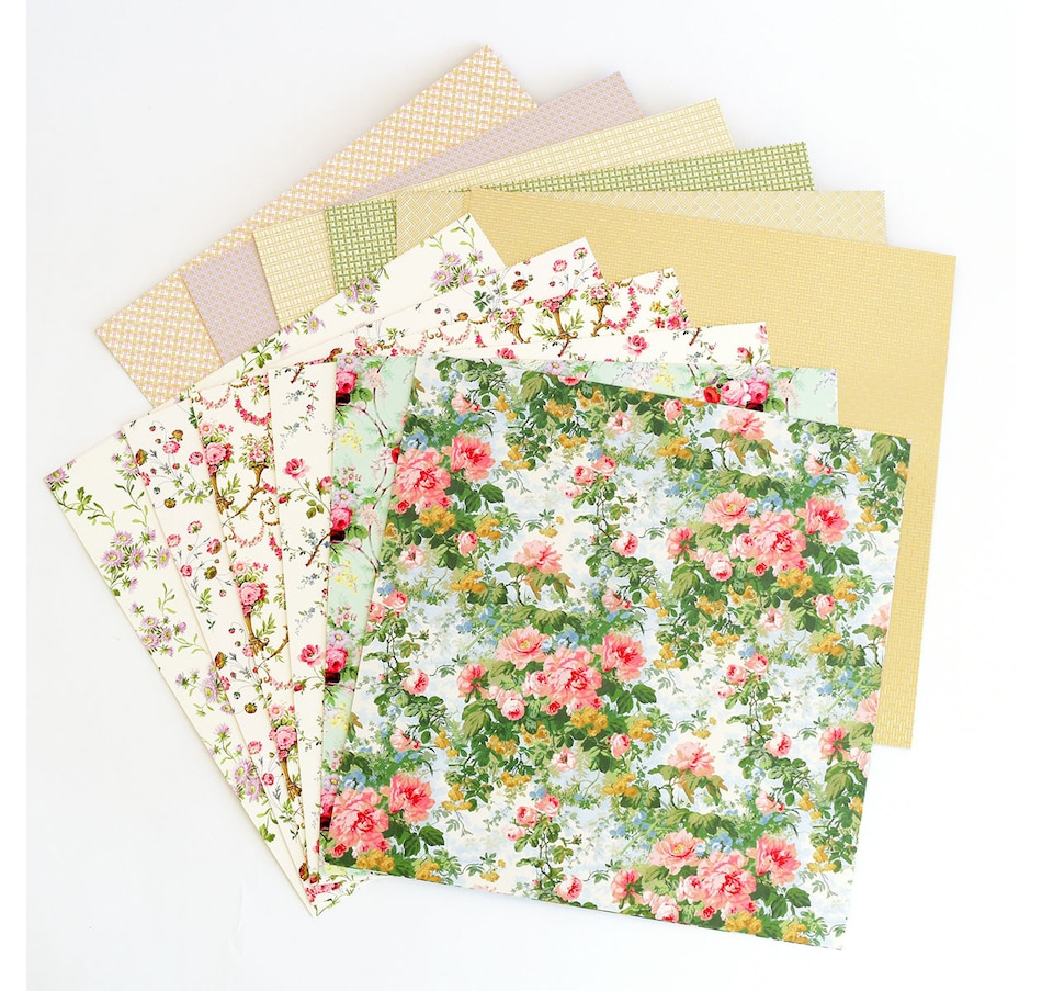 Image 400973.jpg , Product 400-973 / Price $49.99 , Anna Griffin Basket Double-Sided Cardstock from Anna Griffin on TSC.ca's Home & Garden department