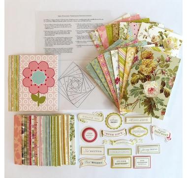 Anna Griffin Iris Fold Card Making Kit