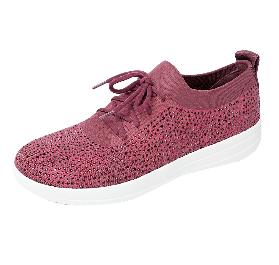 Image 401458_PLM.jpg , Product 401-458 / Price $59.33 , FitFlop F-Sporty Uberknit Crystal Sneaker from fitflop on TSC.ca's Shoes & Handbags department
