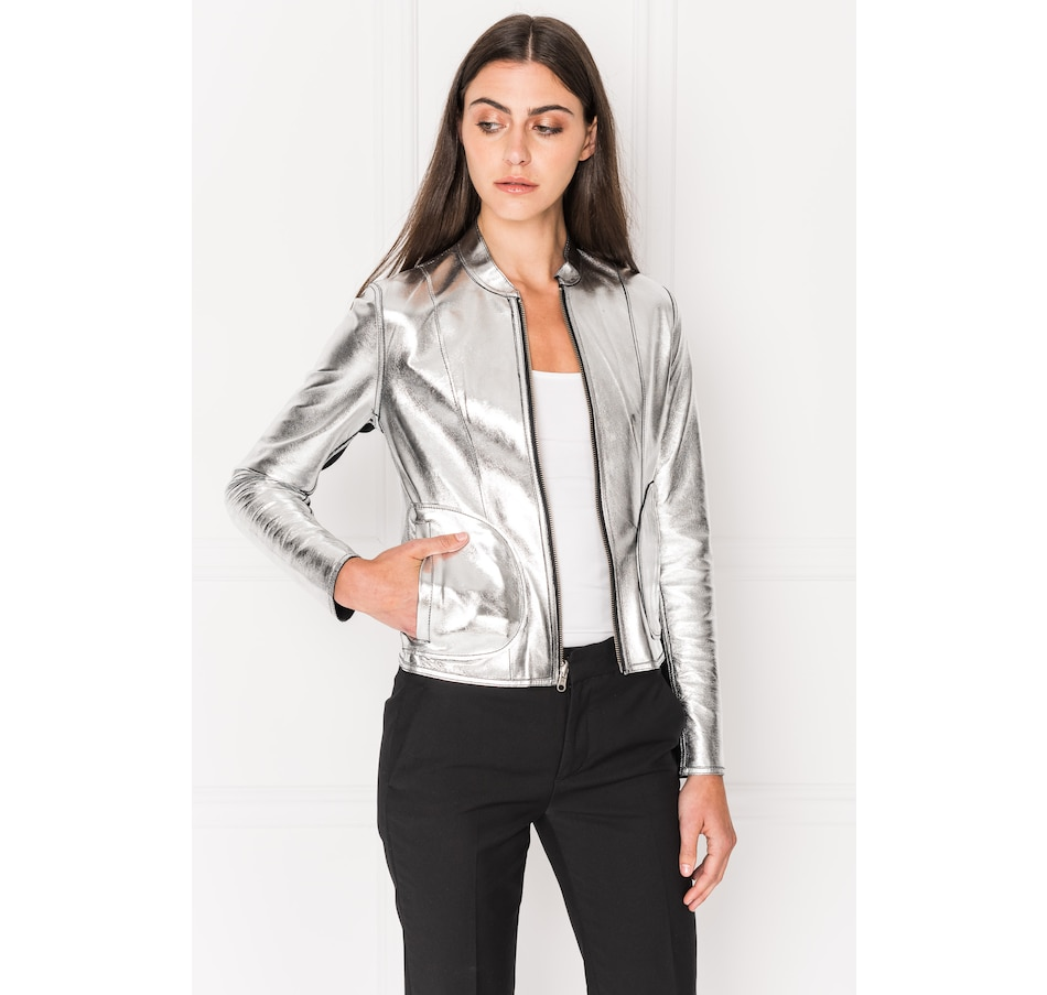 Image 402644_BSI.jpg , Product 402-644 / Price $379.88 , Lamarque Chapin Reversible Leather Jacket from LAMARQUE  on TSC.ca's Fashion department