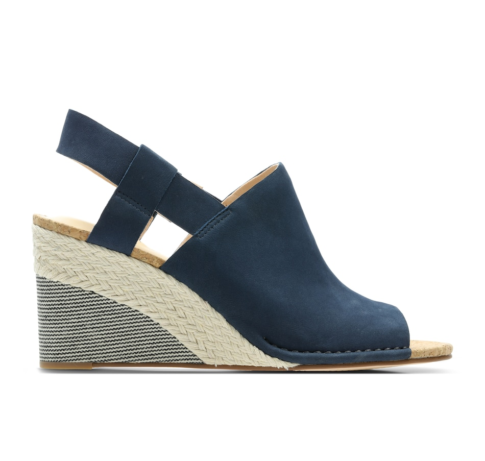 82234f73 Clarks Ladies Spiced Bay Wedge