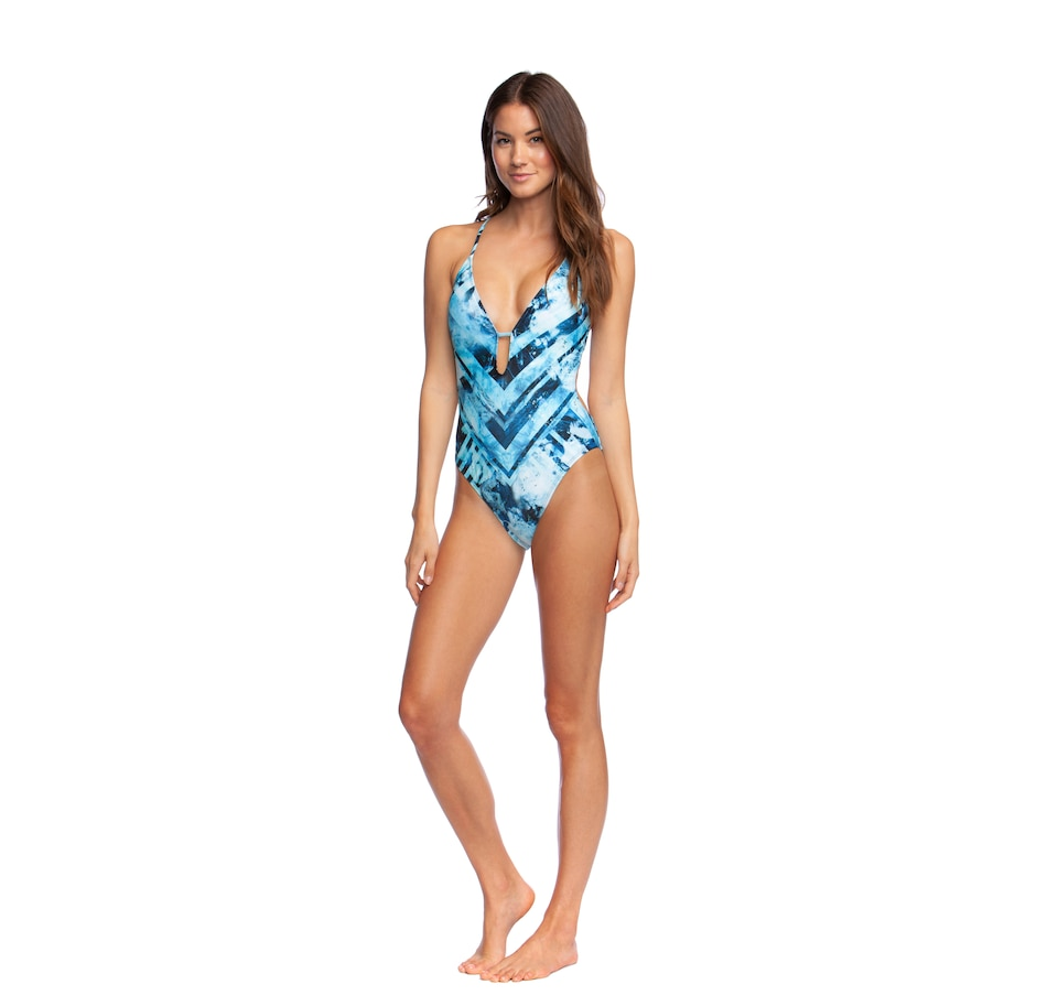 Image 403634_OCN.jpg , Product 403-634 / Price $39.33 , Kenneth Cole New York Plunge Mio 1-Piece from Kenneth Cole  on TSC.ca's Fashion department