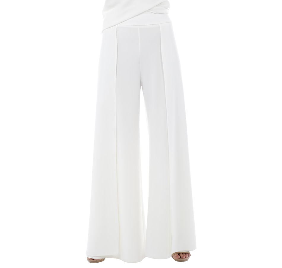 Image 403674_IVR.jpg , Product 403-674 / Price $149.99 , Brian Bailey Front Wrap Pant from Brian Bailey Fashions on TSC.ca's Fashion department