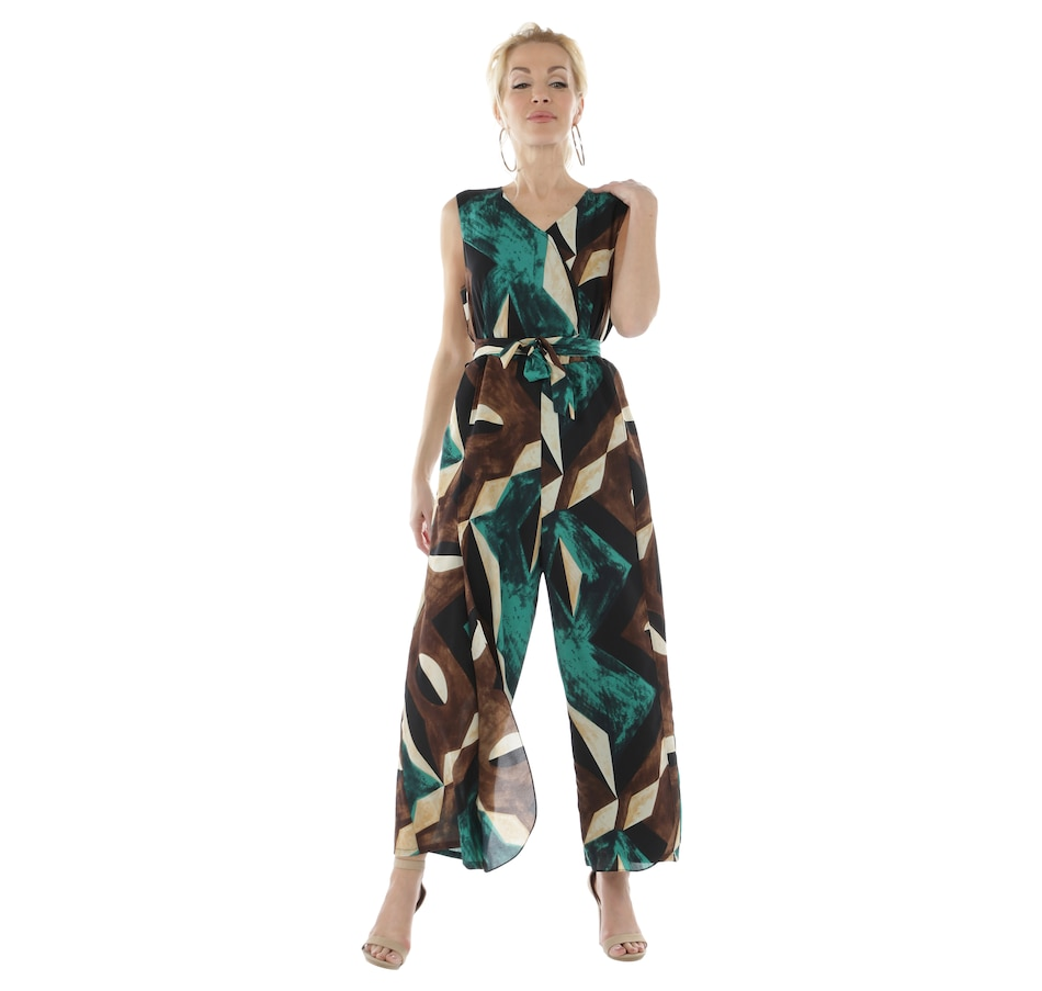 Image 403681_GRN.jpg , Product 403-681 / Price $120.00 , Brian Bailey Jumpsuit from Brian Bailey Fashions on TSC.ca's Fashion department