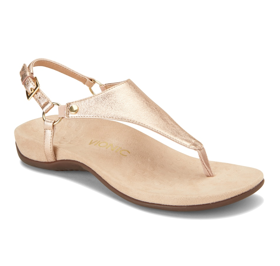Image 404022_RGL.jpg , Product 404-022 / Price $89.88 , Vionic Ladies Rest Kirra Toe Thong Sandal from Vionic on TSC.ca's Shoes & Handbags department